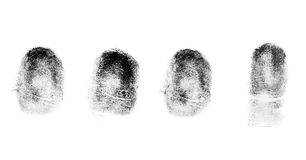 Biometrics finger-print Stock Photography