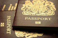 Biometrische Passports2 Stock Foto