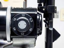 Biomicroscope de lampe de fente pour l'ophtalmologue Images stock