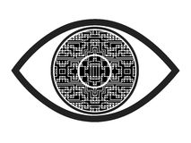 Bionic Eye Symbol Stock Photos