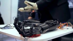 Bionic r?ka w akci zbiory wideo