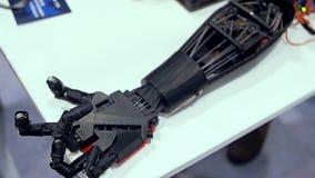 Bionic r?ka w akci zdjęcie wideo