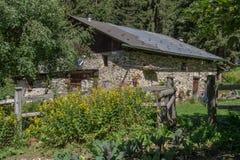 Bionnassay, haute Savoie, Frankrijk royalty-vrije stock foto