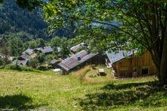 Bionnassay, haute Savoie, Frankrijk royalty-vrije stock afbeelding