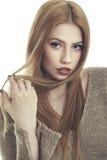 Biorę dobrą opiekę mój włosy Fotografia Stock