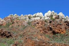 biosfär costa de del få naturlig natur för det just kilometerlasmarbella berg nieves kast för sten för solenoid spain för toppig  arkivbilder