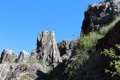 biosfär costa de del få naturlig natur för det just kilometerlasmarbella berg nieves kast för sten för solenoid spain för toppig  royaltyfria foton