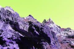 biosfär costa de del få naturlig natur för det just kilometerlasmarbella berg nieves kast för sten för solenoid spain för toppig  fotografering för bildbyråer