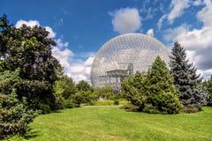 Biosfeer, Milieumuseum Stock Foto's