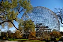 Biosfeer Montreal Stock Afbeelding