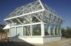 Biosfeer 2 onderzoek en ontwikkelingscentrum in Oracle in Tucson, AZ stock afbeelding