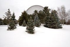 Biosfera de Montreal Imagem de Stock Royalty Free