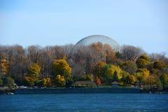 Biosfera de Montreal em Montreal, Quebeque, Canadá Fotografia de Stock