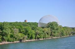 Biosfera de Montreal en Montreal Fotografía de archivo libre de regalías