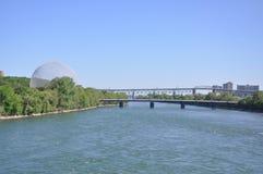 Biosfera de Montreal en Montreal Foto de archivo libre de regalías