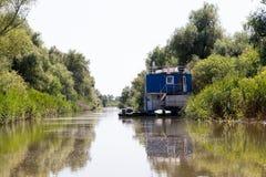 Biosfera del delta de Danubio fotos de archivo libres de regalías