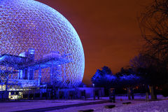Biosfera di Montreal immagini stock