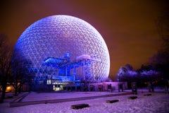 Biosfera di Montreal fotografia stock libera da diritti