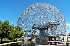 Biosfera di Montreal, Canada Fotografia Stock