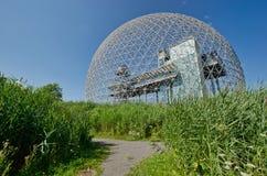 Biosfera en Montreal imagenes de archivo