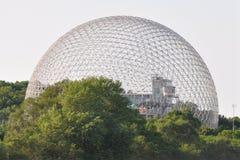 Biosfera en Montreal, Canadá Fotografía de archivo