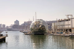 A biosfera, Genoa, Italia Fotografia de Stock