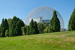 Biosfera a Montreal immagine stock