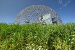 Biosfera a Montreal fotografia stock