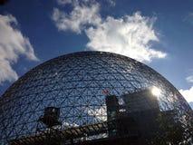 Biosfera a Montreal, Quebec immagini stock