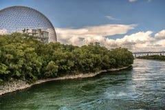 Biosfera, museo dell'ambiente fotografia stock libera da diritti