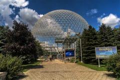 Biosfera, museo dell'ambiente immagini stock