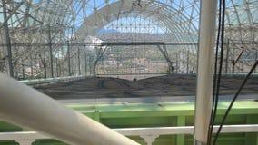 Biosfera 2 - nuovo letto di piantatura Fotografia Stock Libera da Diritti
