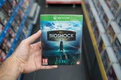 Bioshock Inkasowy gra wideo na XBOX Jeden Fotografia Royalty Free