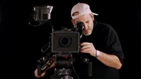 Bioskoopcamera stock footage