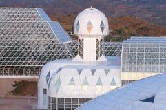Biosphäre 2, Tucson, AZ lizenzfreies stockfoto