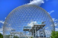 Biosphère à Montréal photographie stock libre de droits