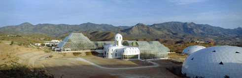 Biosphère 2 photo stock
