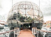 Biosphère. Gênes, Italie photographie stock libre de droits