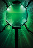 Biosphère liquide verte Image stock