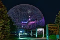 Biosphère, musée d'environnement images stock