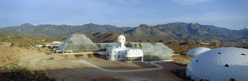 Biosphere 2. Structure in Tucson, Arizona stock photo