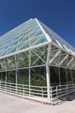 Biosphere 2 Greenhouse. View of greenhouse structure at Biosphere 2 near Tucscon, Arizona stock photography
