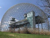 Biosphere. Biosphère de Montreal au Parc jean drapeau royalty free stock image