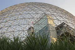 Biosphere Environmental Museum in Montreal. Biosphere Environmental Museum of Montreal in Canada. Photo taken on: July 11th, 2014 royalty free stock images