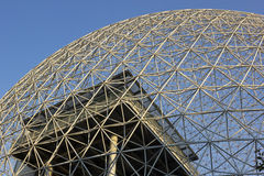 Biosphere Environmental Museum in Montreal royalty free stock photo