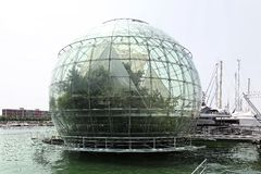 Biosphere globe Genoa Royalty Free Stock Photos