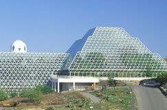 Biosphere 2 human habitat at Oracle in Tucson, AZ royalty free stock image