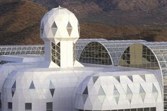 Biosphere 2 living quarters and library at Oracle in Tucson, AZ royalty free stock image
