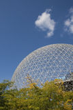 Biosphere Montreal. US pavillon from Expo 1967 stock image