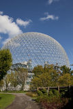 Biosphere Montreal. US pavillon from Expo 1967 (architect Fuller stock photos